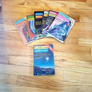 Vintage 70s Fantasy & Sci Fi Magazines lot of 7
